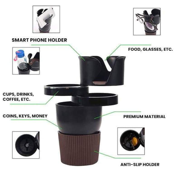 Multi-Function Cup Holder