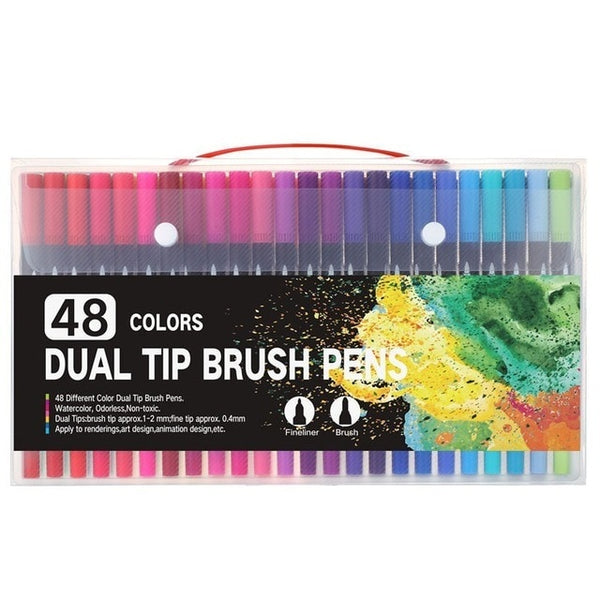 Deep Color Dual-Tip Markers
