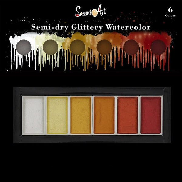 Galaxy Glitter Watercolor Sets -【50%OFF】- Limited Time Sale!