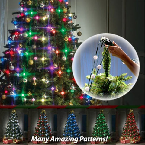 EASYTREE™ Christmas Tree Decorating String Lights - INSTALLS IN SECONDS! - Cayyogo