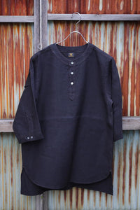 DJANGO ATOUR ANTIQUED GERMAN LINEN SHIRT