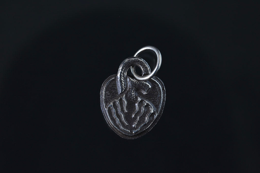 LYNCH SILVER SMITH HEART TOP