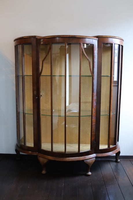 1930`s ENGLAND GLASS CASE (BARGET UIL LONDON)
