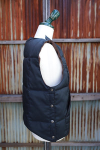 BLACK SIGN SWINDLER WARM VEST