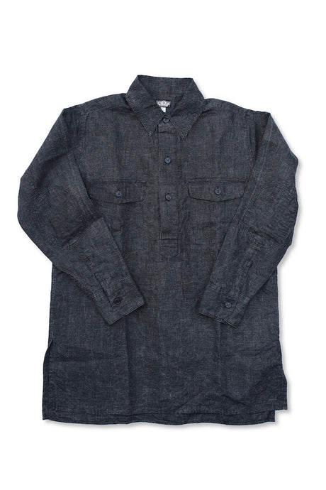 BLACK SIGN INDIAN INK FRENCH FIELD SHIRT