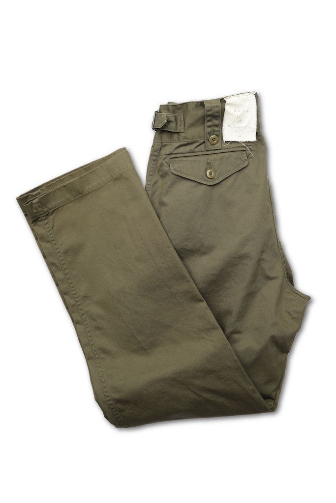 BLACK SIGN COTTON TWILL GURKHA PANTS