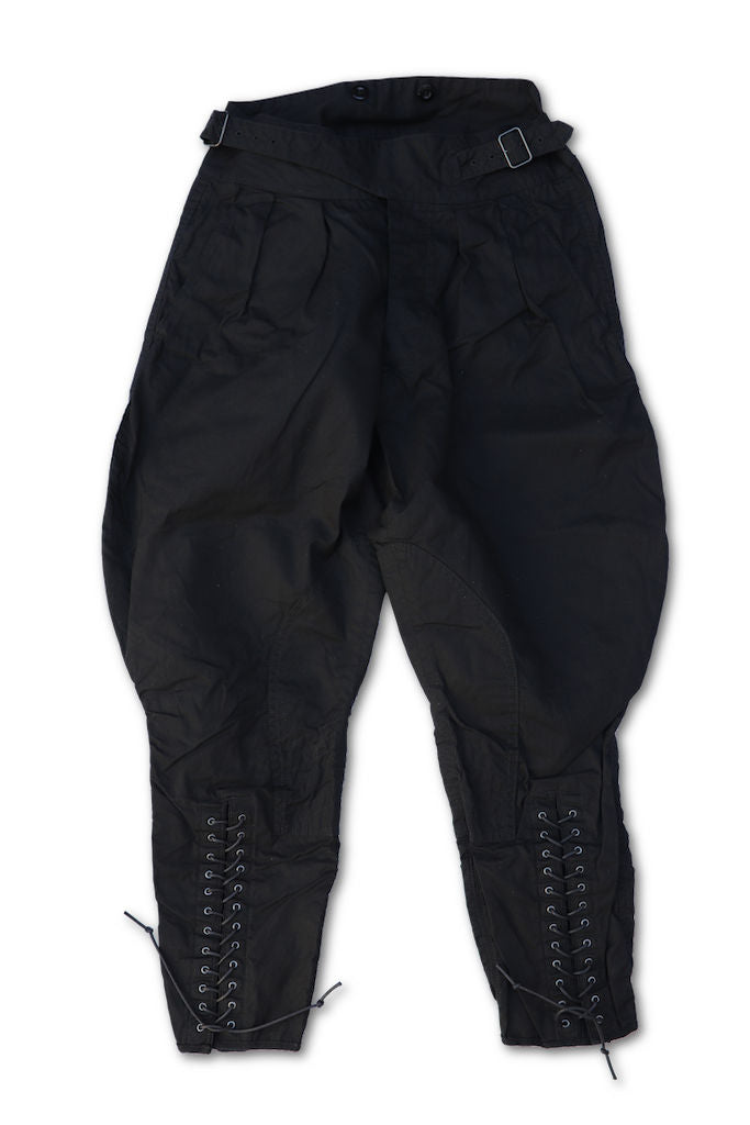 BLACK SIGN PARAFFIN WEATHER GURKHA BREECHES