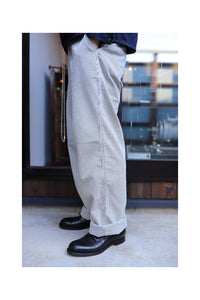BLACK SIGN CODELANE STRIPE HARBOR TROUSERS