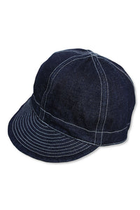 BLACK SIGN MECHANICS CAP DARK INDIGO