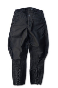 BLACK SIGN MOLESKIN SHERIFF BREECHES
