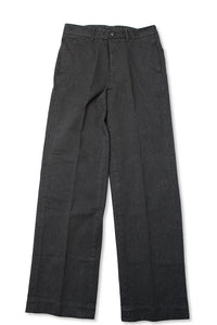 BLACK SIGN COVERT TROUSERS