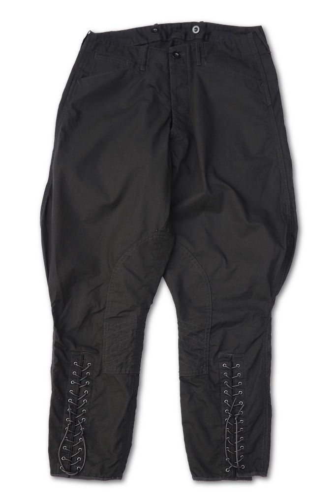 BLACK SIGN RIPSTOP SHERIFF BREECHES BLACK