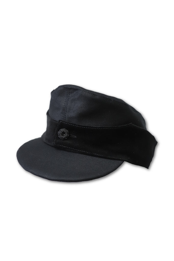 BLACK SIGN BLACK VELVET STORM KING CAP