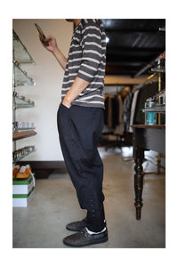BLACK SIGN STRIPE MOTORCYCLE  BREECHES