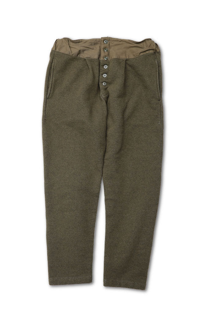 BLACK SIGN HEAVY WEIGHT LUMBERMAN`S SWEAT TROUSERS