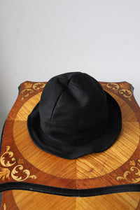 BLACK SIGN MOLESKIN SWINDLER HAT