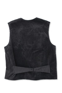 BLACK SIGN 8W CORDUROY SWINDLER  VEST