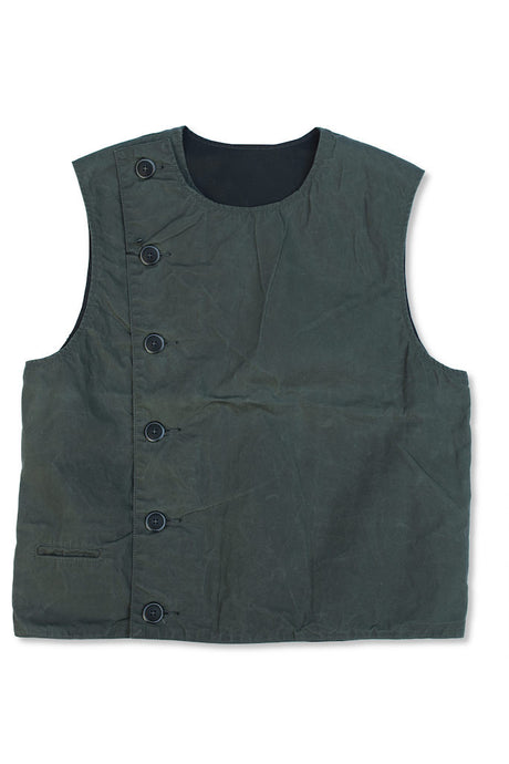 BLACK SIGN PARAFFIN SWINDLER VEST
