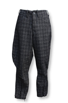 BLACK SIGN WOLF TWEED SHERIFF BREECHES