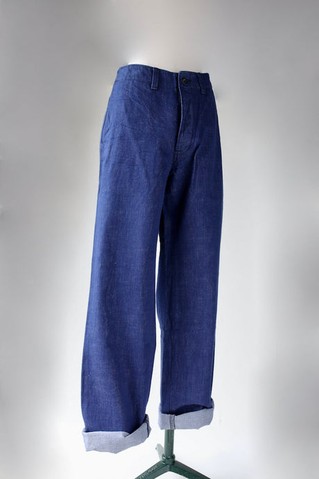 DJANGO ATOUR NATURAL INDIGO FACTORY PANTS