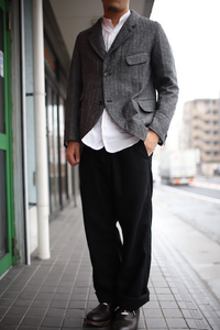 DJANGO ATOUR WOOL EASY PANTS