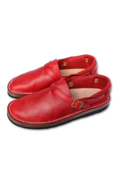 TOKYO SANDALS GG別注 HEEL HOLD SLIP ON RED