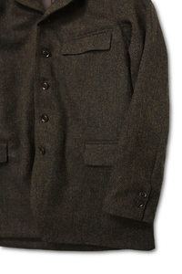 DJANGO ATOUR AL CLASSIQUE FRENCH TWEED SACKCOAT