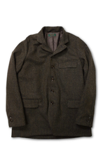 画像をギャラリービューアに読み込む, DJANGO ATOUR AL CLASSIQUE FRENCH TWEED SACKCOAT