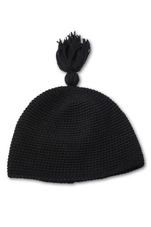 KING RICH BROS HAND KNITTING TASSEL SKULL CAP