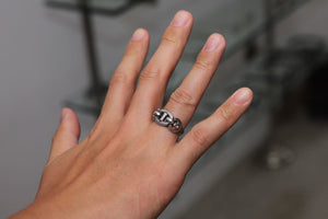 LYNCH SILVER SMITH ANCHOR RING(S)