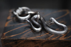 LYNCH SILVER SMITH SNAKE KEY CHAIN