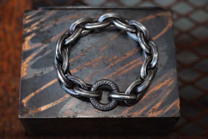 LYNCH SILVER SMITH CASTING(S) BRACELET
