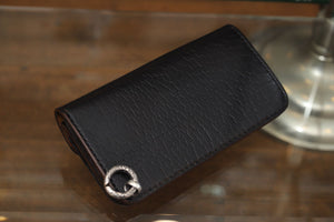 LYNCH SILVER SMITH BIKER WALLET BLACK