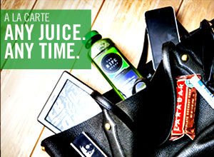 A la carte: Any Juice. Any Time.