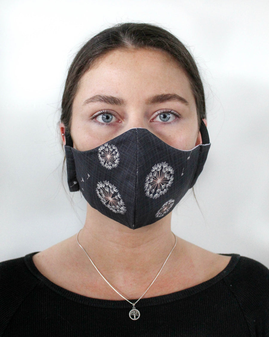 Fitted Face Mask - Dandelion