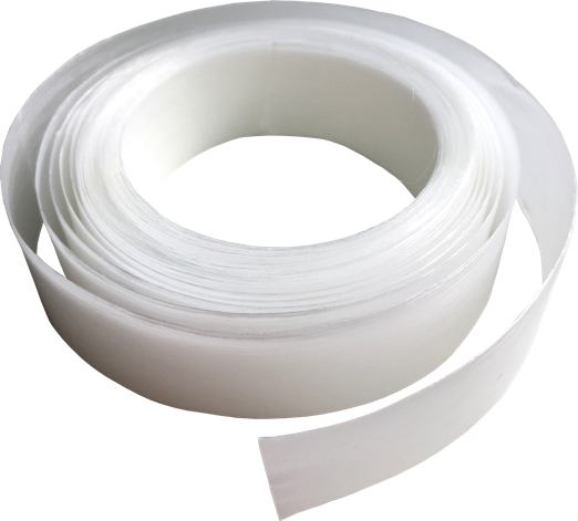 Up close view of a roll of Forj ribbon