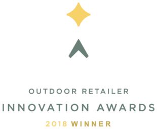 2018 Winner of the Outdoor Retailer Innovation Award