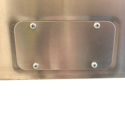 ES10625 Stainless 1000x600x250