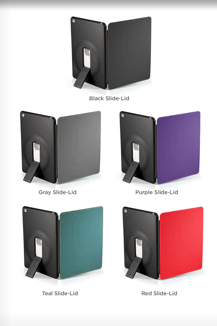 - FolioSlide Case w/Lid - iPad Air & Air 2 - ZeroChroma - 3