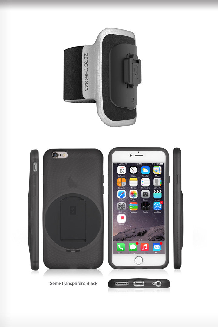 - VarioProtect Case & Arm Mount Combo for iPhone 6 & 6s - ZeroChroma - 3