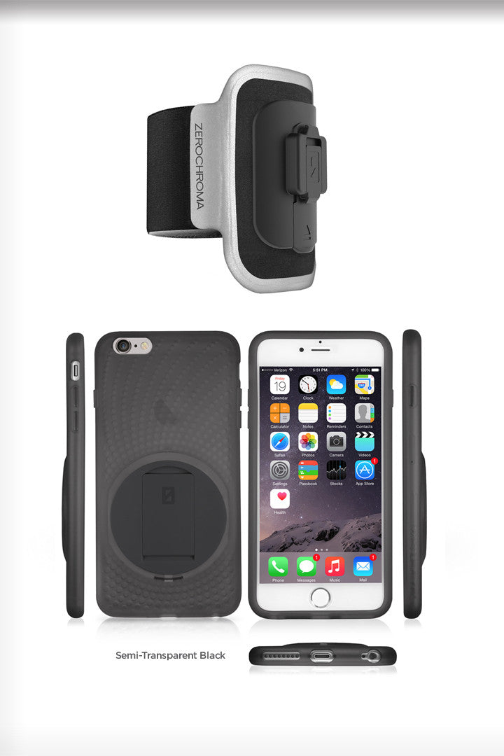 - VarioProtect Case & Arm Mount Combo for iPhone 6 Plus & 6s Plus - ZeroChroma - 4