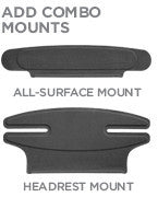 - All Surface & Headrest Mounts Combo Pack - ZeroChroma