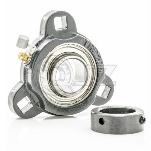 SATRD204 - Cast Iron - 20 mm 3-Bolt Flange Unit SA204G + TRD204