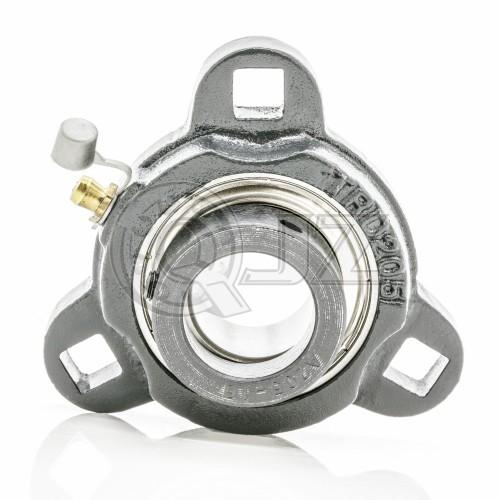 SATRD206 - Cast Iron - 30 mm 3-Bolt Flange Unit SA206G + TRD206