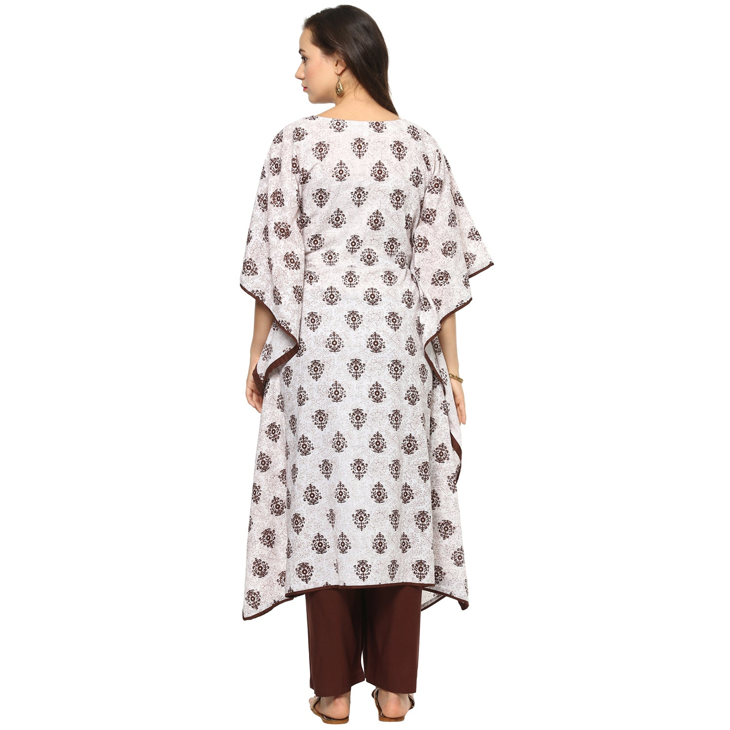 Idalia Women Printed Mutli-Colour Kaftan