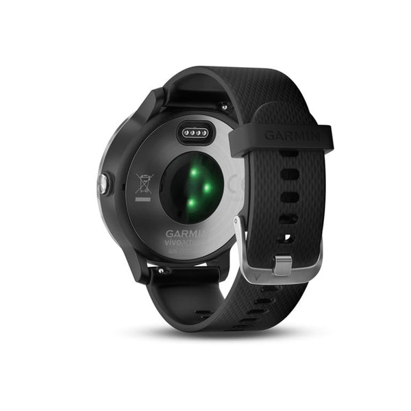 GARMIN Vivoactive 3 Black Silicon Stainless Steel