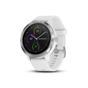 GARMIN VivoActive 3 White Silicon Stainless Steel