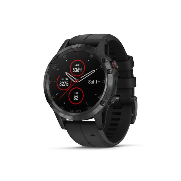 GARMIN Fenix 5 Plus Sappire Black with Black Band