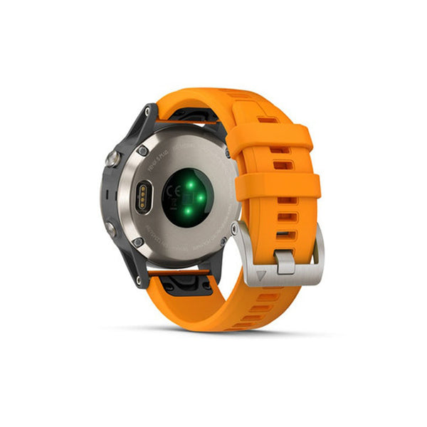GARMIN Fenix 5 Plus Sappire Titanium /Solar Flame Orange
