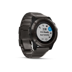 GARMIN Fenix 5x Plus Carbon Grey DLC Titanium